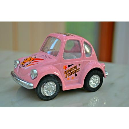 Small Toy Cars (Canvas Print Toys Miniature Car Small Car Toy Car Miniature Stretched Canvas 10 x)
