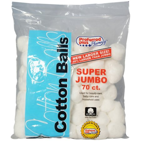 Cotton Balls Super Jumbo 70 ea