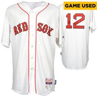 Mike Napoli Boston Red Sox Game-Used White Jersey from June 23, 2015 vs. Baltimore Orioles