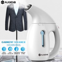 Garment Clothes Steamer, AUGIENB Handheld Iron Clothes Steamer Portable Home and Travel Fabric Small Steamer Iron Steam Ironing Machine Wrinkle Remover 800W 180ml