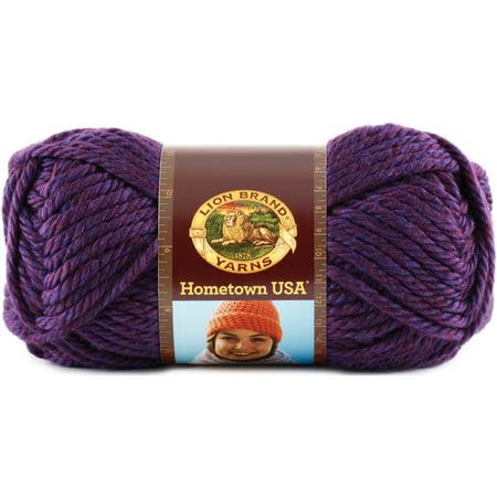 Crochet Yarn Walmart : Hometown USA Yarn-Portland Wine - Walmart.com