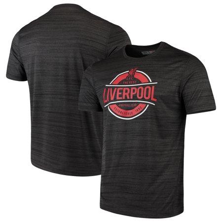 Liverpool Levelwear Advantage T-Shirt - Heathered Black