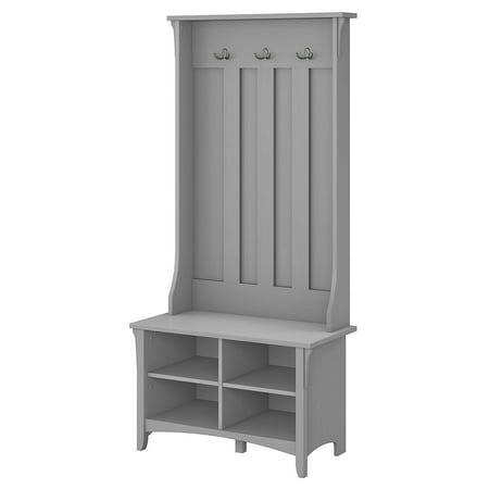 Bush Furniture Salinas Hall Tree With Storage Bench, Cape Cod (Custom Duty On Used Furniture In India)