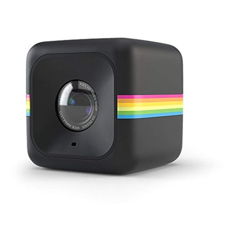 polaroid cube act ii hd 1080p lifestyle action video camera (black) - updated features