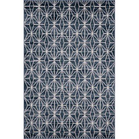 - Jill Zarin Uptown Fifth Avenue Navy Blue Area Rug