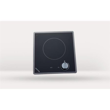 Kenyon B41709 Cortez Single Burner Cooktop, black with analog control - 6 .5 inch 208V UL