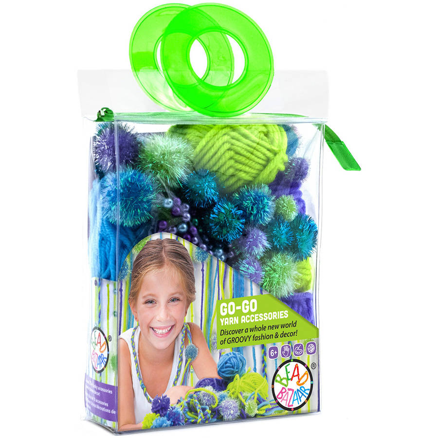 Go-Go Yarn Accessories Kit-Grape-Lime