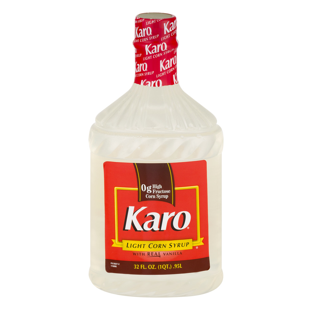 Karo Light W/Real Vanilla Corn Syrup 32 Fl Oz Plastic Bottle