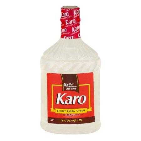 Karo light w real vanilla corn syrup 32 fl oz plastic for Cuisine karo
