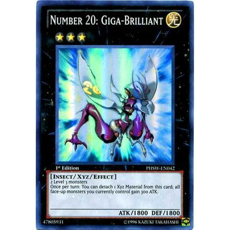 YuGiOh Photon Shockwave Number 20: Giga Brilliant