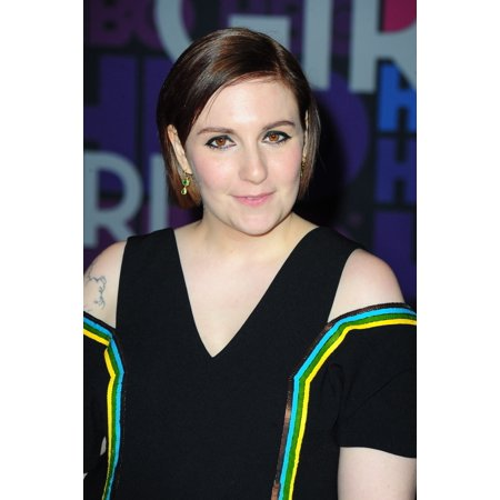 Lena Dunham At Arrivals For Girls Fourth Season Premiere On Hbo Canvas Art     16 X 20