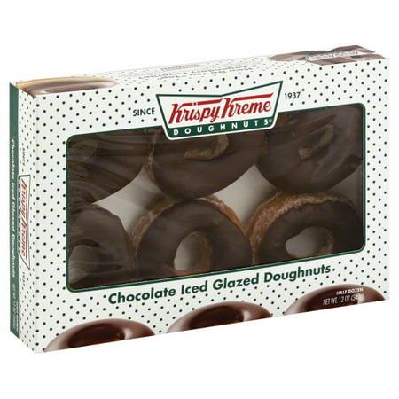 Krispy Kreme Doughnut Glazed Doughnuts 6 Ea
