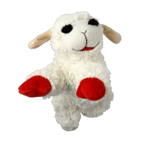 Walmart Plush Lamb Chop Dog Toy