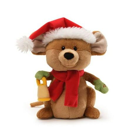 GUND Christmas 4036403 Merry Mouse Animated Musical Stuffed Animal