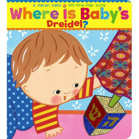Plastic Dreidel - Where Is Babys Dreidel (Board Book)