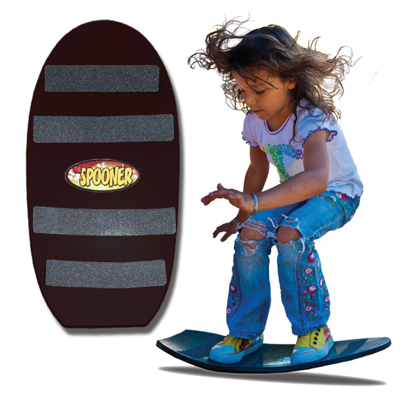 Spooners Board Freestyle Black by Distribution Solutions LLC