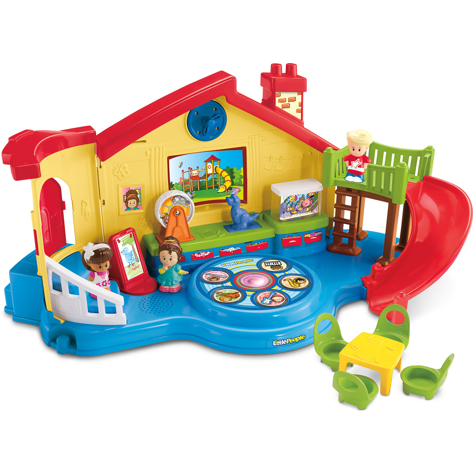 Fisher Price Little People Musical Preschool by Little People
