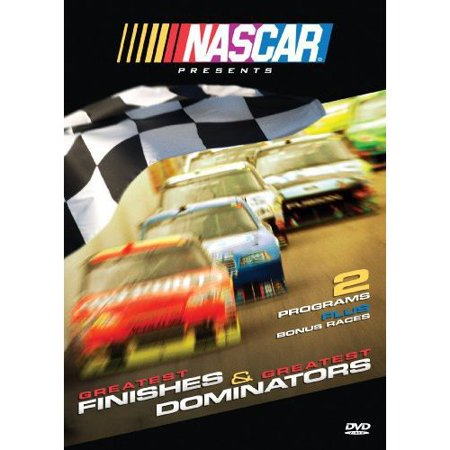 NASCAR: Greatest Finishes & Greatest Dominators DVD Movie (Nascar Digital Driver)