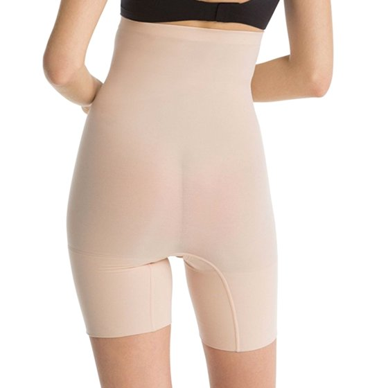 2c9e508d438c Spanx - spanx women's higher power short shapers 2745 soft nude ...