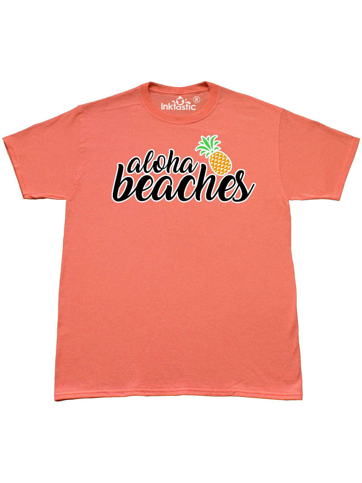 Hawaiian pineapple aloha beaches T-Shirt