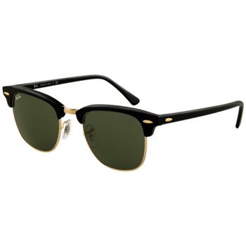 Ray-Ban Clubmaster RB3016-W0365 Semi-Rimless Men's Sunglasses