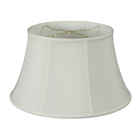 Royal Designs Shallow Drum Bell Billiotte Wall Lamp Shade White 8 X 12 5 7 6 Bs 711 12wh