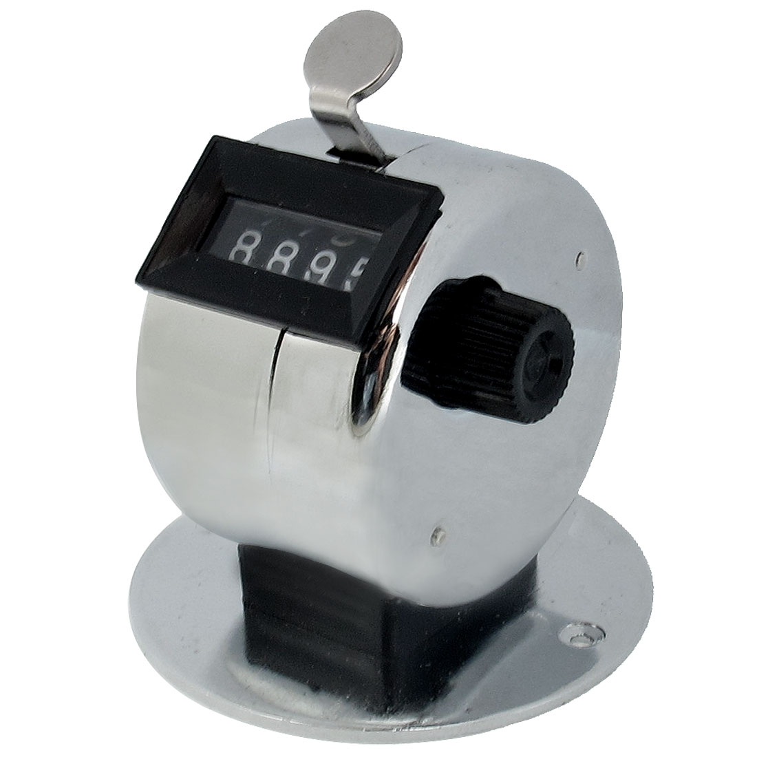 Unique Bargains Unique Bargains Resettable 4 Digits Number Clicker Metal Hand Tally Counter
