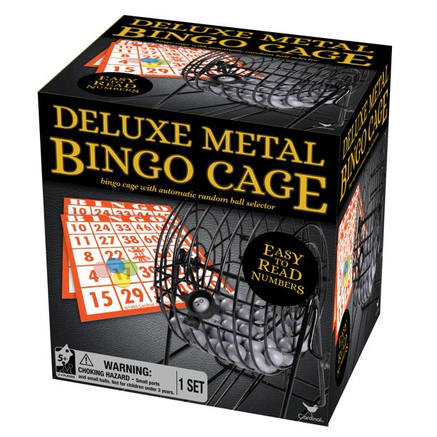 Deluxe Metal Bingo Cage Set Walmart Com Walmart Com