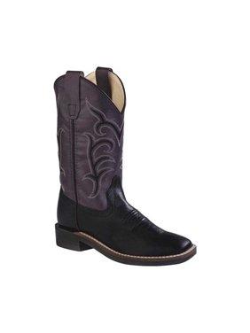 Children's Old West Round Toe Fringe Western Cowboy Boot - Child