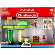 Super Mario Bros. U Micro Land Acorn Plains Deluxe Playset