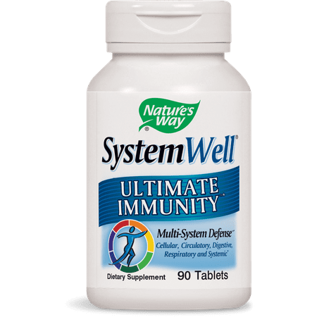 - Nature's Way SystemWell, Ultimate Immunity Multi-System Defense, 90 Ct