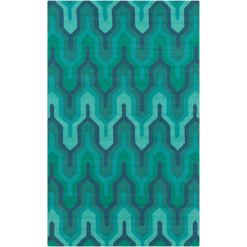 Art of Knot Harrenhal Hand Hooked Polyester Accent Rug