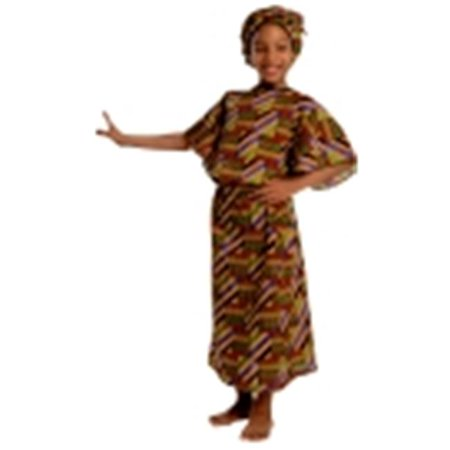 Childrens Factory African American Multi-Cultural Girl Costume