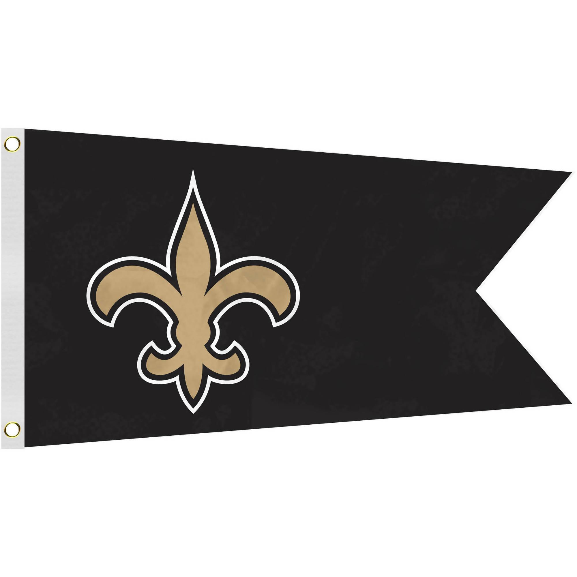 NFL New Orleans Saints Boat Flag