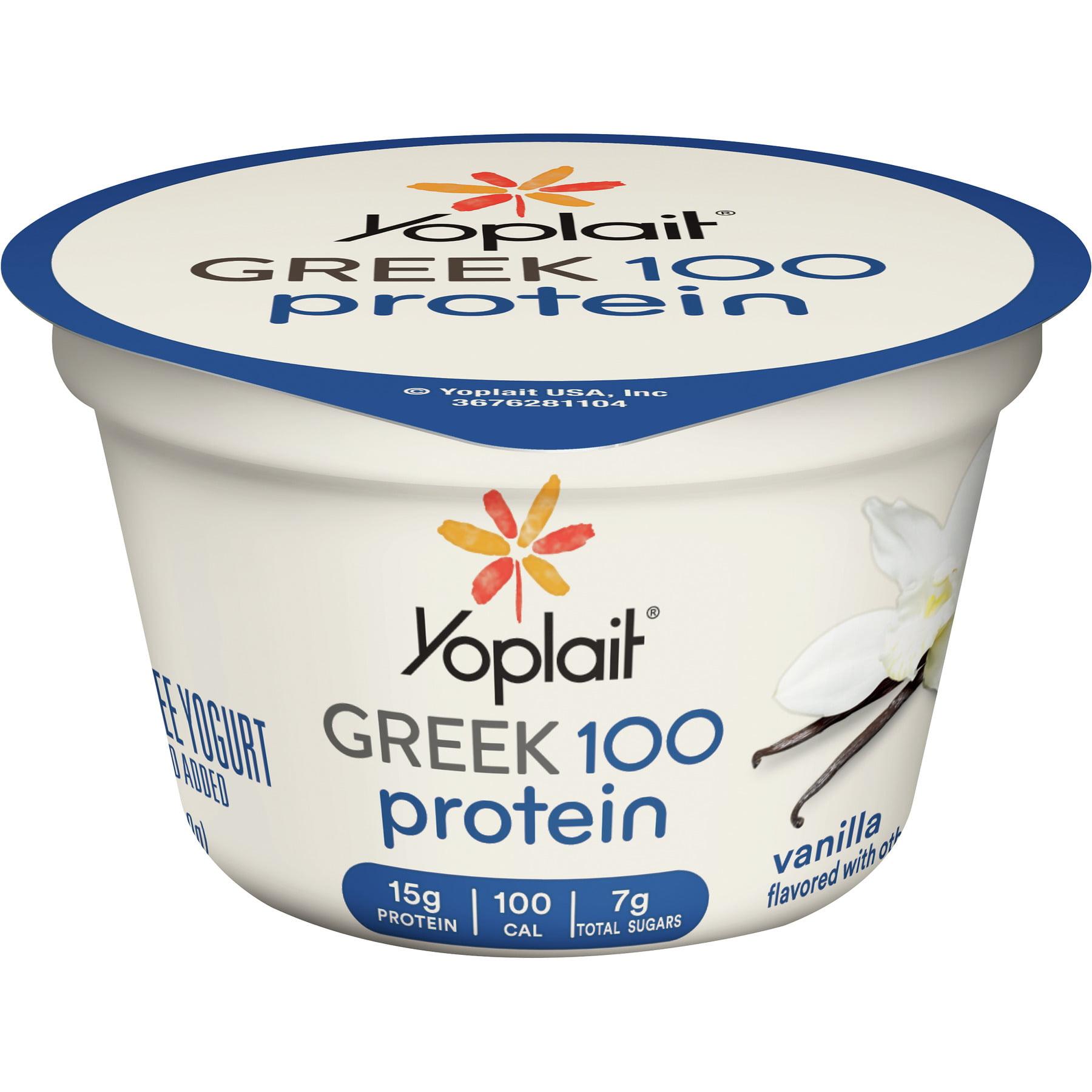 Yoplait Greek 100 Protein Vanilla