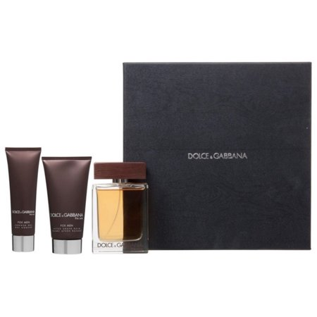 3 Pack - Dolce & Gabbana The One 3 Piece Gift Set For Men 1 ea 3 Piece Set Footboard