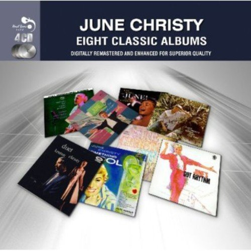 EIGHT CLASSIC ALBUMS [BOX] [JUNE CHRISTY] [CD BOXSET] [4 DISCS]