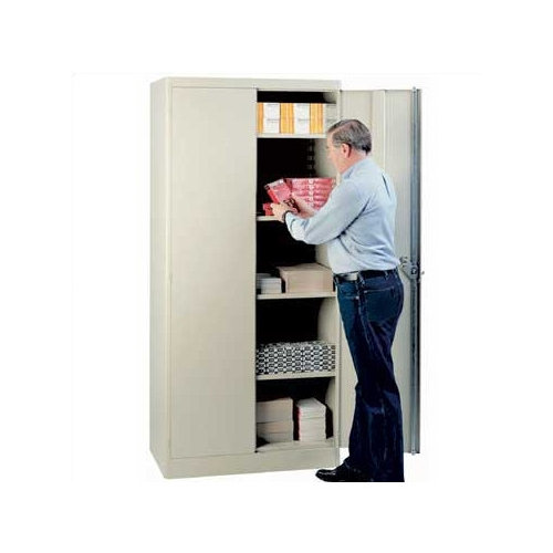 Lyon Workspace Products Extra Shelf Set for 36'' W x 21'' D Storage Cabinets (Set of 4)