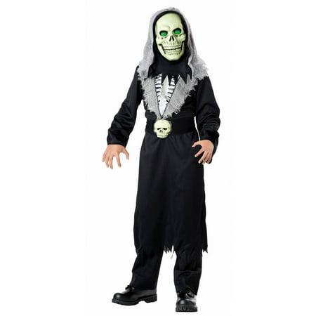 Light Up Reaper Boys Costume](Boys Rapper Costume)