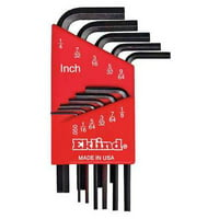 Eklind 10111 11-Piece Short Arm Series Hex-L® Key Set