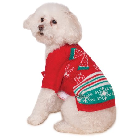 Dog Pet Puppy Christmas Santa Ugly Sweater Party Coat Jacket Halloween Costume