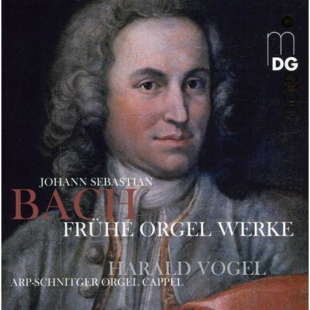 Harald Vogel - Bach: Early Organ Works [SACD] - Bach Halloween Organ