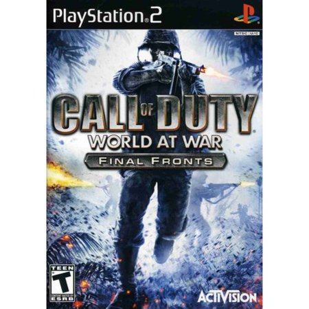 Call of Duty: World at War Final Fronts (PS2) (Call Of Duty World War 2 Server Status)