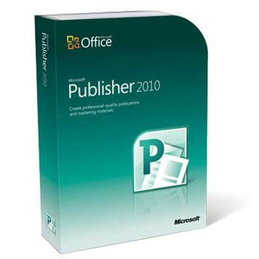 Microsoft Publisher 2010 for Windows by Microsoft