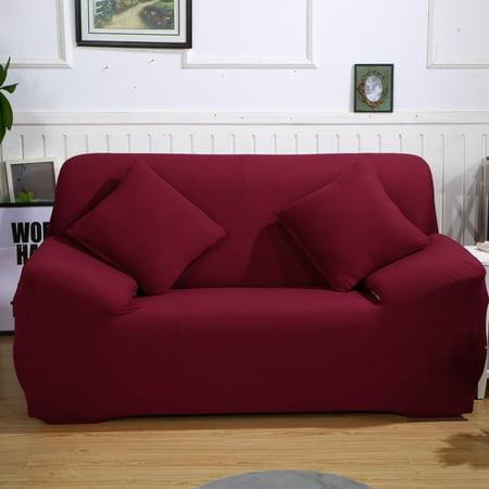 Stretch Fabric Sofa Slipcover 1 2 3 4 Piece Elastic