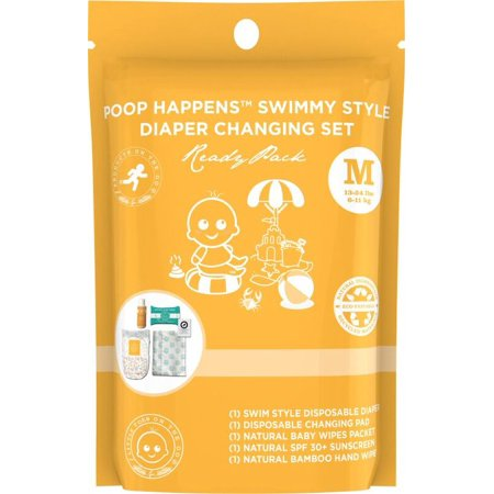 Poop Happens Swimmy Style Diaper Changing Set Size Medium