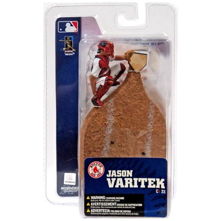 - McFarlane MLB Sports Picks 3 Inch Mini Series 4 Jason Varitek Mini Figure