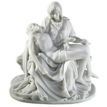 - Design Toscano The Pieta (1499) Bonded Marble Statue: Medium