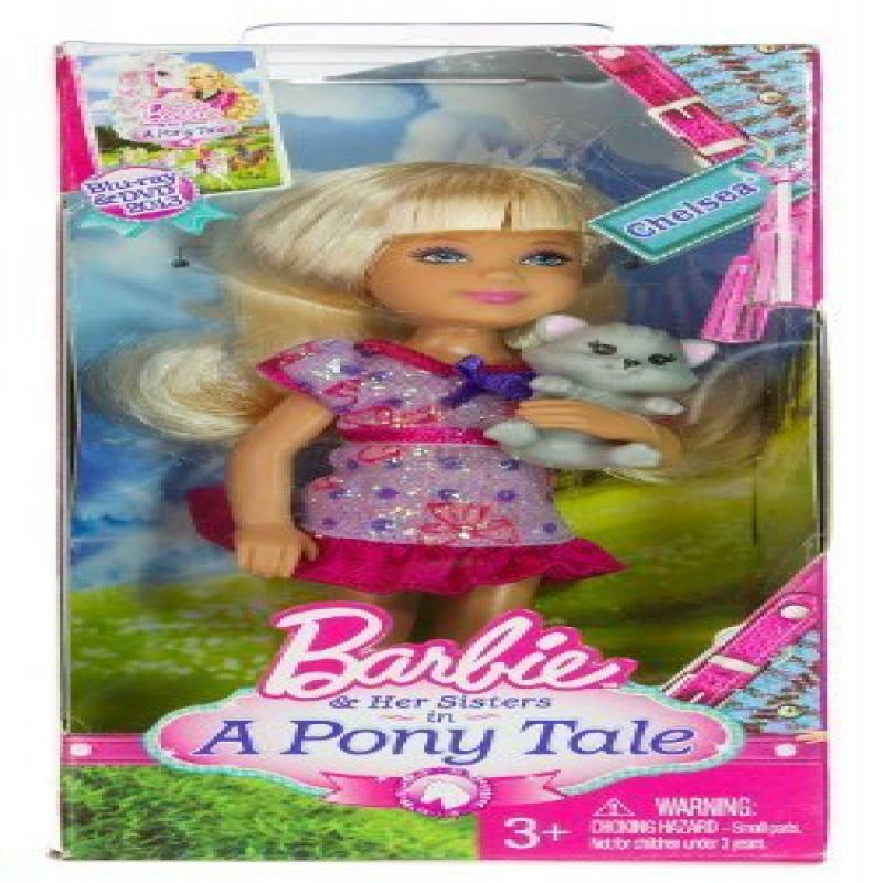 """Chelsea ~5.5"""" & Kitty Doll Playset: Barbie & Her Sisters ..."""