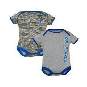 United States Air Force ABU Camo Baby Bodysuits 2 pk Gray 6-9M